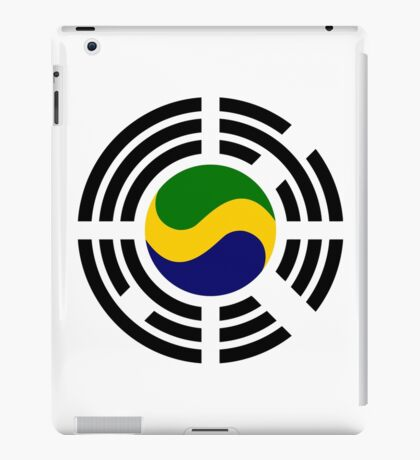 Korean Gabonese Multinational Patriot Flag Series iPad Case/Skin