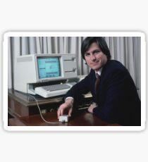 Steve Jobs and the Lisa Sticker