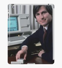 Steve Jobs and the Lisa iPad Case/Skin