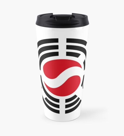 Korean Austrian Multinational Patriot Flag Series Travel Mug