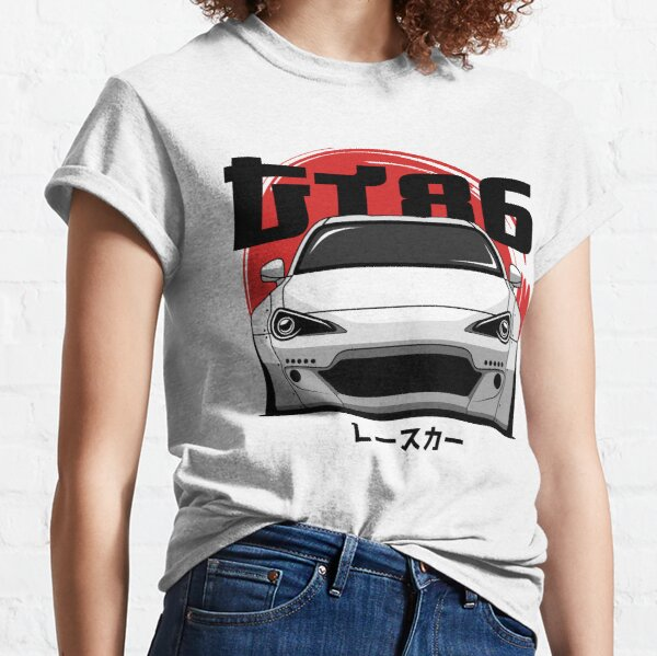 Weiße GT 86 Front Classic T-Shirt