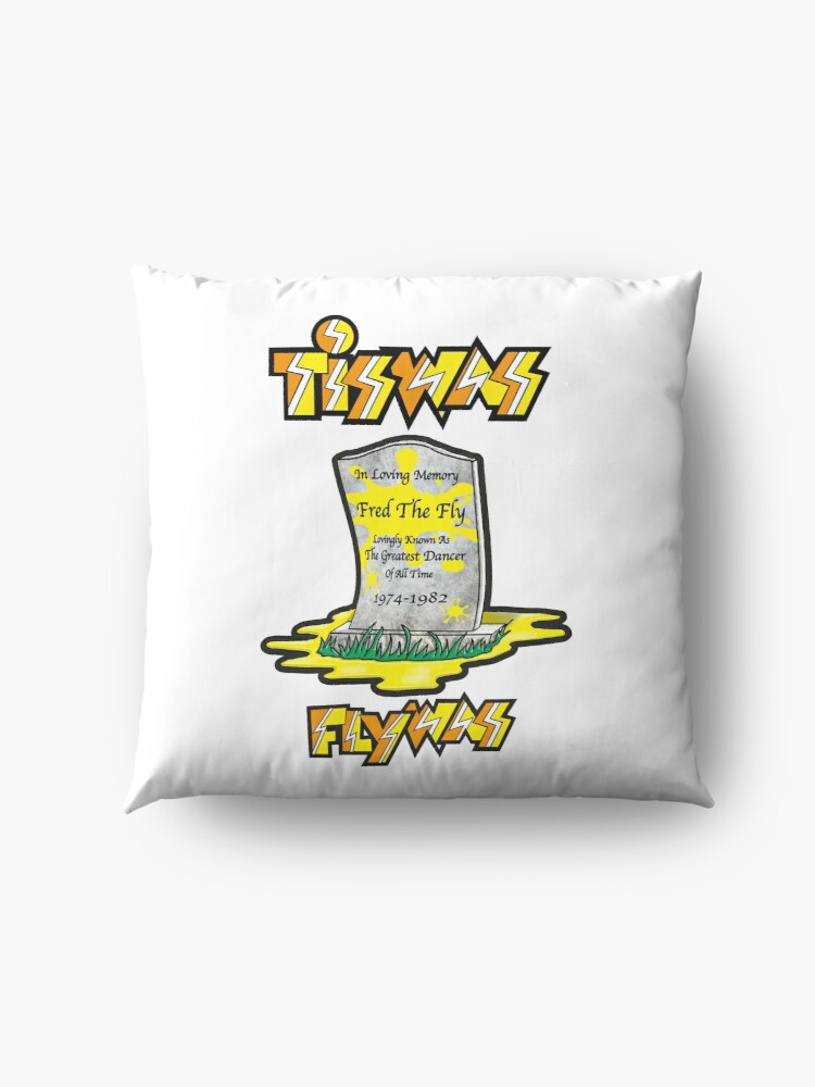 Alternate view of Tiswas Dying Fly Floor Pillow
