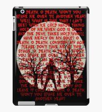 Until Dawn - Oh Death  iPad Case/Skin