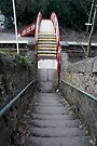 The way down to the platform by CiaoBella