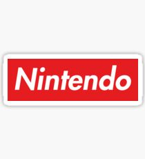 "Nintendo ""sup"" style Sticker"