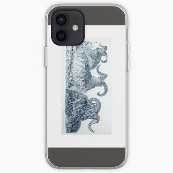 GOAT-EE-NESS - Etching by REKHA IYERN FE RECORDS CANADA iPhone Soft Case