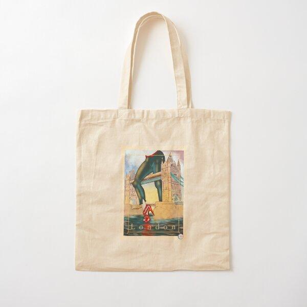 London Cotton Tote Bag
