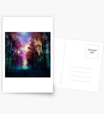 Magical Forest Postcards