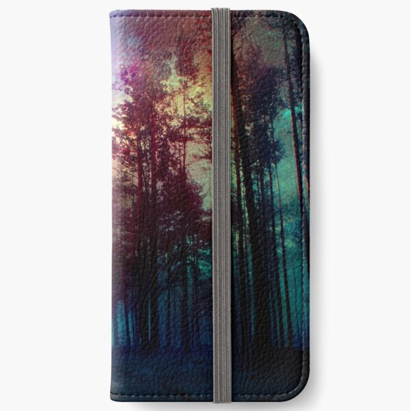 Magical Forest iPhone Wallet