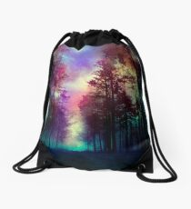 Magical Forest Drawstring Bag