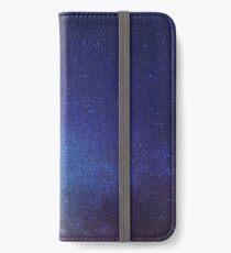 Night sky iPhone Wallet/Case/Skin