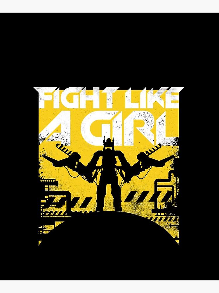 Fight like a girl by therocketman