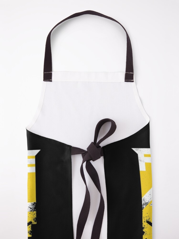 Alternate view of Fight like a girl Apron