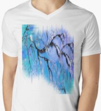 On A Clear Day ~ Abstract 29+ wall Art + Products Design  Men's V-Neck T-Shirt