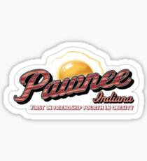 Pawnee, 1st in Friendship, 4th in Obesity Sticker