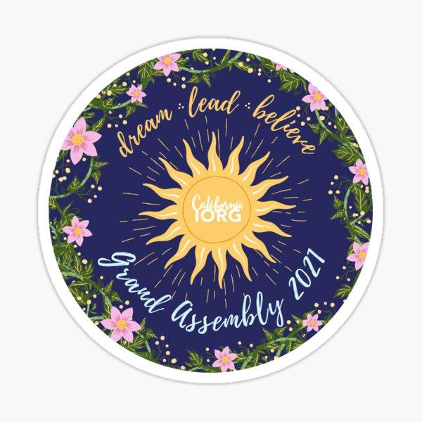 Grand Assembly 2021 Design  Sticker