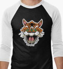 3 Eyed Tiger Men's Baseball ¾ T-Shirt