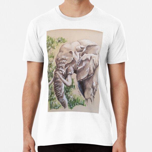 Elephant; large land animal Premium T-Shirt
