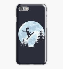 ET, E.T., moon, freeride, snowboard, E.T. the Extra-Terrestrial iPhone Case/Skin