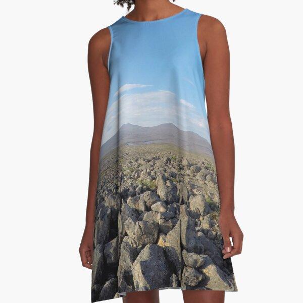 Putorana Plateau A-Line Dress