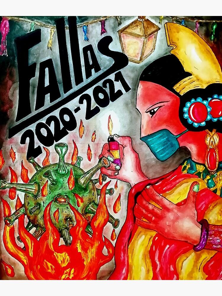 "TXUS BIXQUERT: ""Guerra Covid-19 - Fallas 2020-2021"" de EZERT-SHOP"