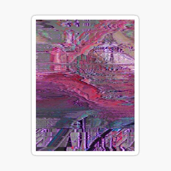 p1x3l r1v3r Sticker