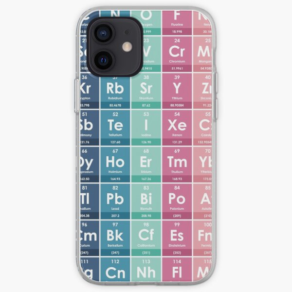 Elements of the Periodic Table iPhone Soft Case