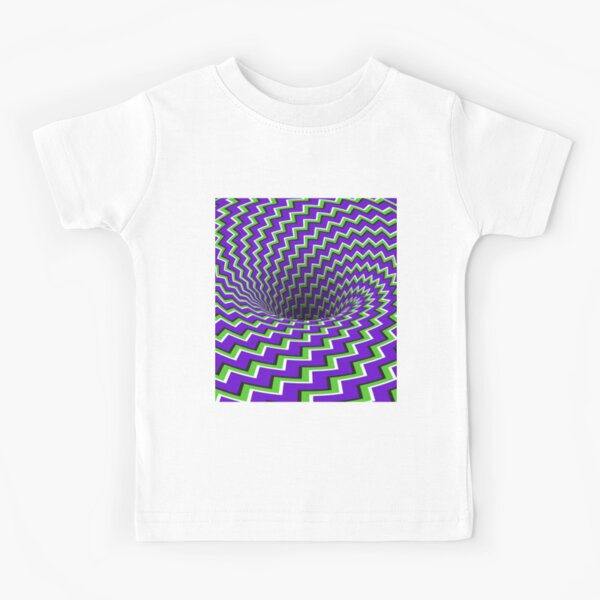 optical illusion 3D gravity design now available on a wide range of clothing, stationery and giftware. Kids T-Shirt