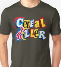 Cereal Killer Ransom Note Unisex T-Shirt