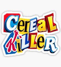 Cereal Killer Ransom Note Sticker