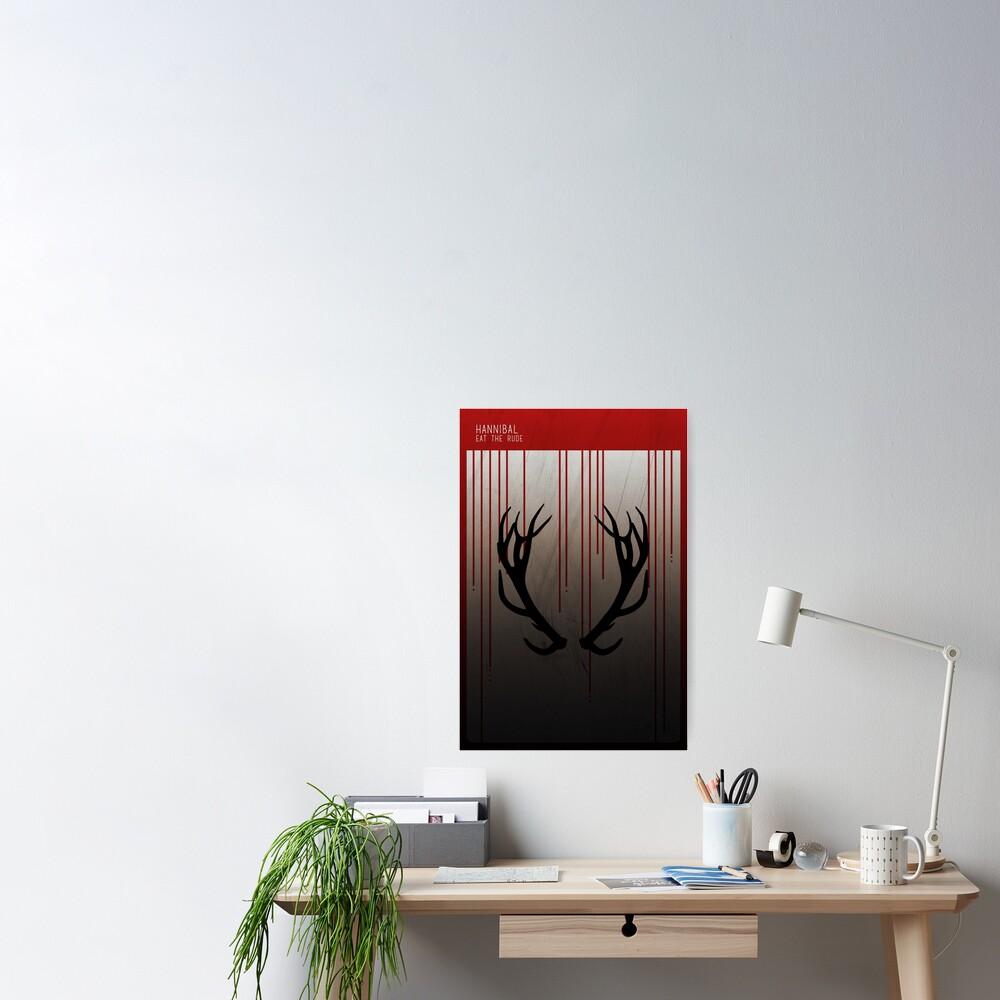 Hannibal Minimalist Poster