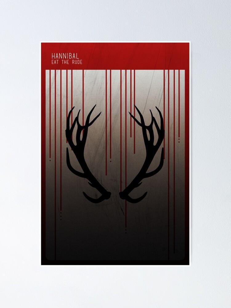 Alternate view of Hannibal Minimalist Poster