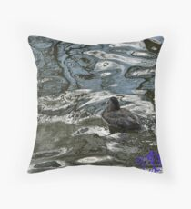 EJK - Just Keep Swimming  Throw Pillow