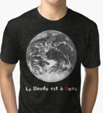 Le Monde de La Haine Tri-blend T-Shirt