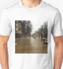 Snowy day Unisex T-Shirt