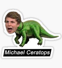 Michael Ceratops Sticker