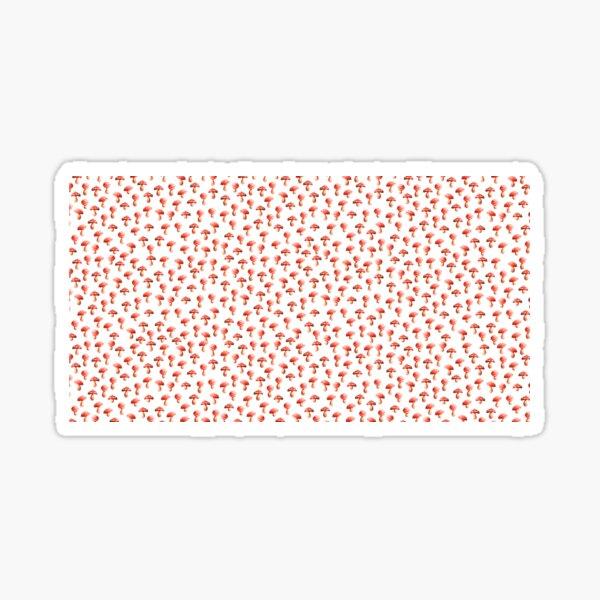 Fly Agaric (Amanita muscaria) Pattern Sticker