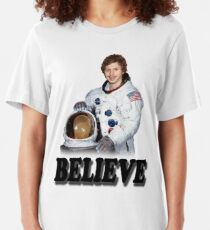 Michael Cera Believes in You Slim Fit T-Shirt