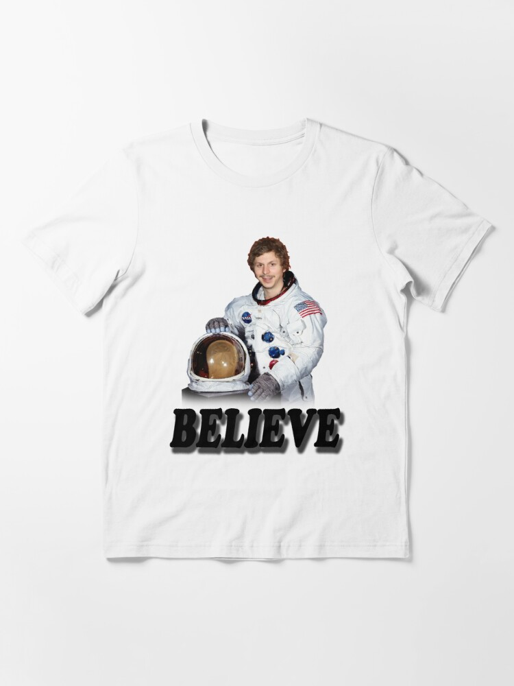 Alternate view of Michael Cera Believes in You Essential T-Shirt