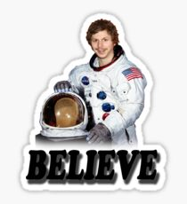 Michael Cera Believes in You Sticker