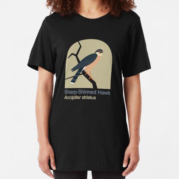 Sharp-shinned Hawk Slim Fit T-Shirt