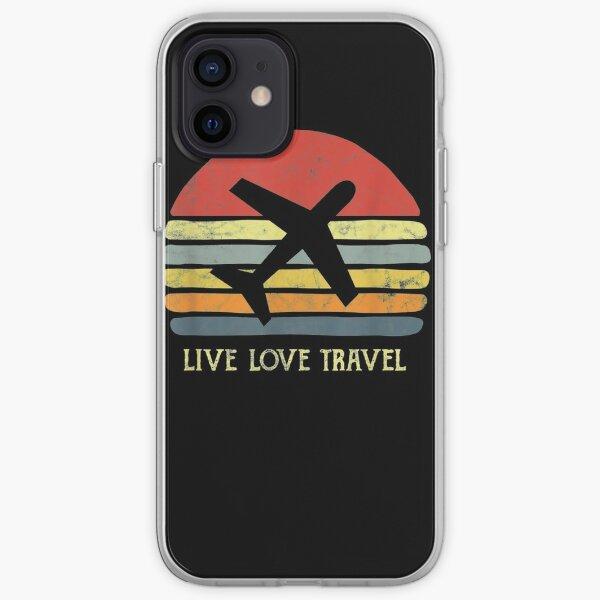 Vintage-Travel-World-Traveler-Themed-Gift-Love-Traveling iPhone Soft Case