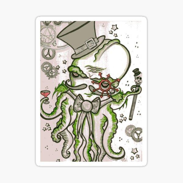 Steampunk Cthulhu  Sticker