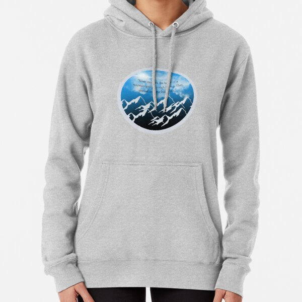 Mountains with Meaning Pullover Hoodie