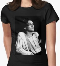 leonardo dicaprio Women's Fitted T-Shirt
