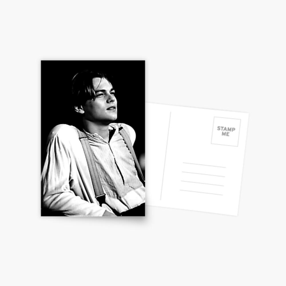 Leonardo Dicaprio Postkarte