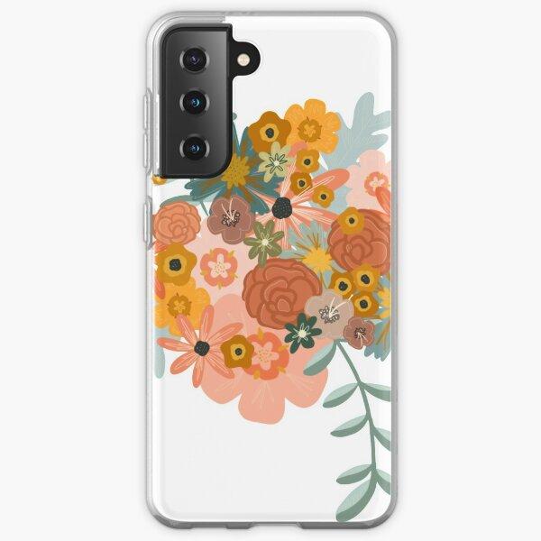 Boho Flowers Samsung Galaxy Soft Case