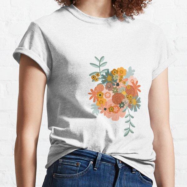 Boho Flowers Classic T-Shirt