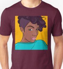 Mulatto girl vector print T-Shirt