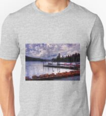 Boats at Bowness Unisex T-Shirt
